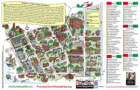 Map Of Baltimore Md Little Italy In Baltimore Maryland