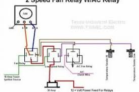 spal fan relay wiring diagram electric cooling fan circuit