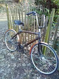 fabriquer son porte velo dimitri d u0027ecobati wavre a construit son vélo en bambou ecobati