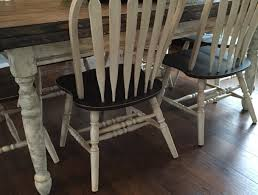 chalk paint farmhouse table from existing table to farm table repurpose life