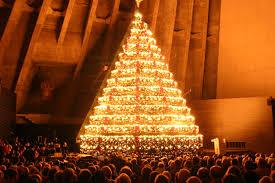 Bellevue Baptist Church Singing Christmas Tree by Singing Christmas Tree Christmas Lights Decoration