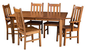 amish furniture hand crafted solid wood dining sets amish