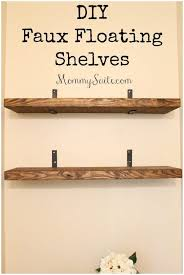 Hanging Floating Shelves by Shelf Design Beautiful Shelf Unit Diy Faux Floating Shelves 140
