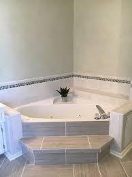 Tiling Bathtub Bathroom Wonderful Tiling Bathtub Corners 27 Floating Shelves In