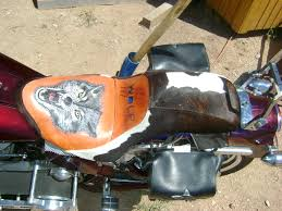 motorcycle seats and accessories gunslinger leather