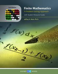 finite mathematics a problem solving approach with student