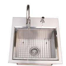 Outdoor Kitchen Sink by 21