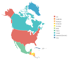 america map png us map with canada and mexico pict america thematic map