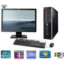 ordinateurs bureau pc de bureau hp 6000 pro 2 duo 3 00 ghz ram 4 go hdd 250