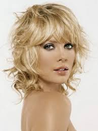 shoulder length layered haircuts for curly hair shoulder length curly hairstyles with bangs