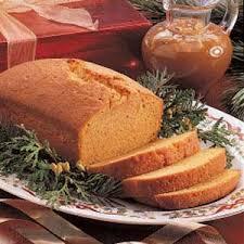 pumpkin spice pound cake recipe taste of home