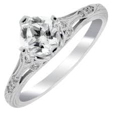 Timeless Designs Timeless Designs Ring Setting In 14kt White Gold 1 10ct Tw
