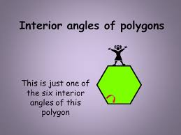 How To Calculate Interior Angles Of An Irregular Polygon Interior Angles Of Polygons By Grallert Teaching Resources Tes