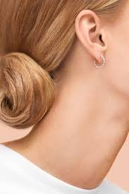 tight hoop earrings play it by ear twist mini hoop earrings in sterling