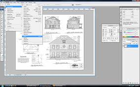 make vintage blueprint artwork from your house plan with