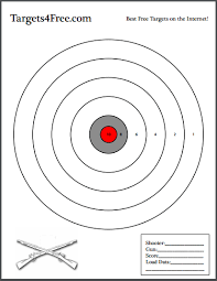 bullseye shooting target targets4free bullseye bulls