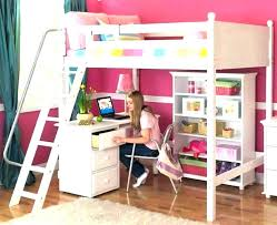 wooden loft bunk bed with desk full loft beds with desk alternative views full loft beds desk