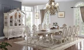 antique white dining room set ragenardus dining room set antique white acme furniture