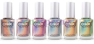 color club halo hues holographic nail polish lacquer u2022 8 99