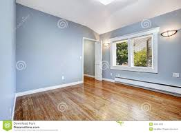 empty bedroom with light blue walls stock photo image 44241253