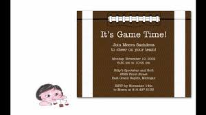 fantastic football birthday party invitations for your fabulous