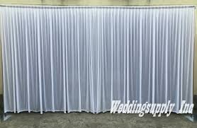 wedding backdrop prices white wedding backdrop 3m high by 6m wide 10feet by 20feet wedding