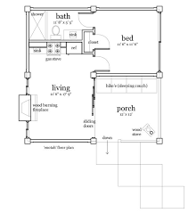 1 Bedroom Cabin Floor Plans 336 Best Small House Plans Images On Pinterest Small House Plans