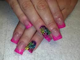 edge acrylic nails how you can do it at home pictures designs