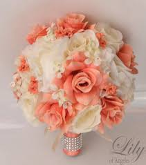 silk flowers for wedding 17 package silk flowers wedding bouquet artificial bridal
