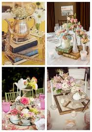 photo centerpieces 40 charming vintage wedding centerpieces happywedd