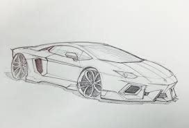 Images Of Lamborghini Aventador Drawing Wallpaper Sportstle