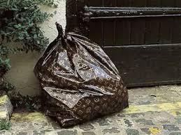 Ultimate Ridiculousness Louis Vuitton Trash Bags Freshomecom - Bathroom trash bags