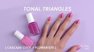 best essie color combos for two tone manis essie x blink by