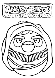download star wars coloring pages printable angry birds print