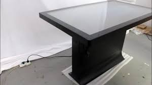 Touch Screen Conference Table Multimedia Touchscreen Information Touch Screen Conference Table