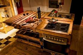 Rustic Kitchen Furniture 32 Neat And Inexpensive Rustic Kitchen Islands To Materialize