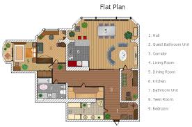 Build A Salon Floor Plan Flat Design Floor Plan How To Draw A Flat Organizational Chart