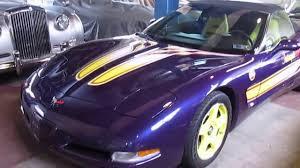 1998 corvette pace car for sale 1998 chevrolet corvette indy 500 pace car for sale