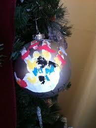 snowman handprint ornaments jersey family