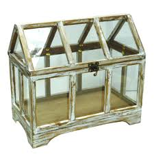 purchase the white wash wooden terrarium by ashland at michaels