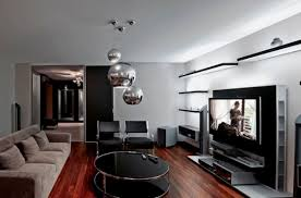 Simple  Living Room Home Theater Design Decorating Inspiration - Living room home theater design
