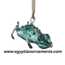 egyptian glass ornaments glass christmas ornaments blown glass