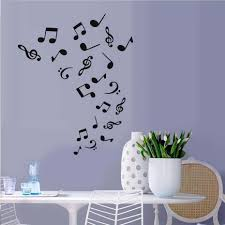 compare prices on music note wallpapers online shopping buy low wall decoration diy home decor musical notes decal vinyl tv mural wall sticker background wallpaper for