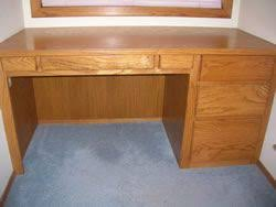 Build A Wooden Computer Desk by Best 25 Woodworking Desk Plans Ideas On Pinterest Build A Desk