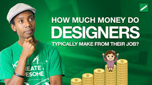 how much money do graphic designers make youtube