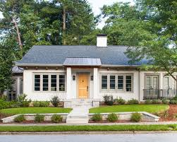 Curb Appeal Atlanta - ranch style home curb appeal houzz