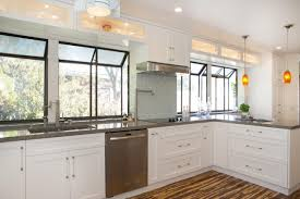 White Kitchen Cabinets Shaker Style 20 Kitchen Design With Natural Lighting 2329 Baytownkitchen