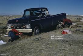 ford hunting truck truck in a ditch a ford truck pictures getty images