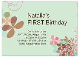birthday invitation wording the venue and the date of the