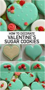 How to Make Decorated Valentine Sugar Cookies on Craftsy